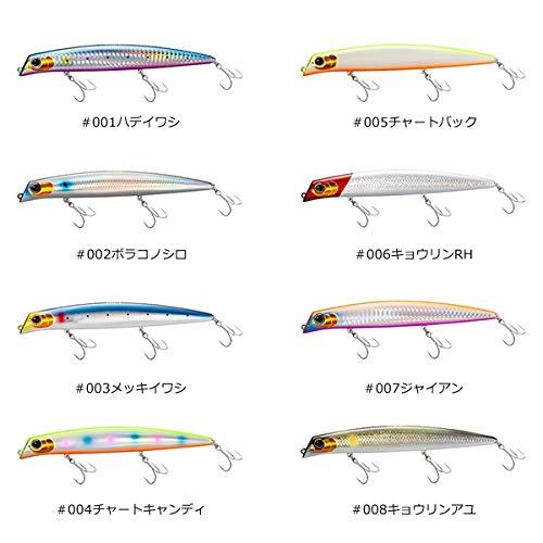 シマノ(SHIMANO) ルアー エクスセンス ゴリアテハイ 145F XAR-C XL-L14S 001 ハデイワシ