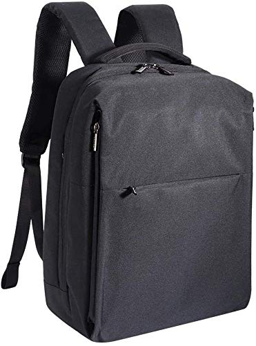 XHUENG Durable Outdoor Travel School Laptop Backpack Black Outdoor Backpack, Breathable Waterproof Large Backpack, Wild Camping Guide
