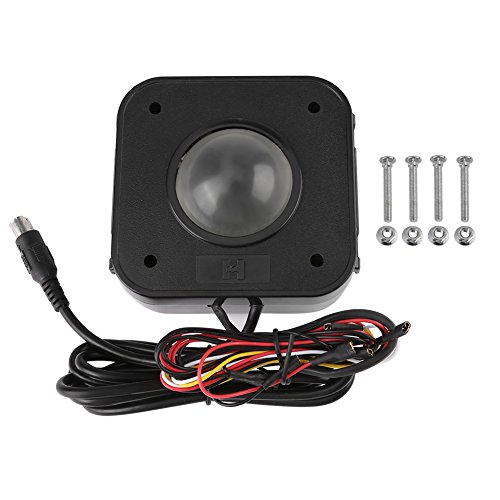 Trackball de Arcade 4.5cm Conector Redondo Iluminada de LED Ratón de Trackball PS / 2 PCB...