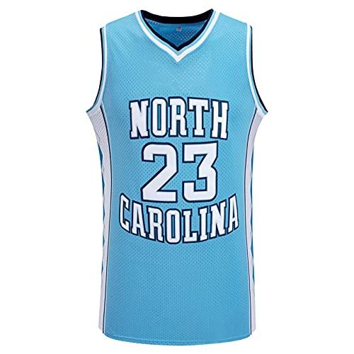 GFDDZ NBA Jersey # 23 - NBA Lakers Jersey Hombres Adultos Baloncesto Jersey Transpirable Resistente Al Desgaste Bordado Camiseta para Hombre, Jersey De Ventilador De Secado Rápido, Blue-S