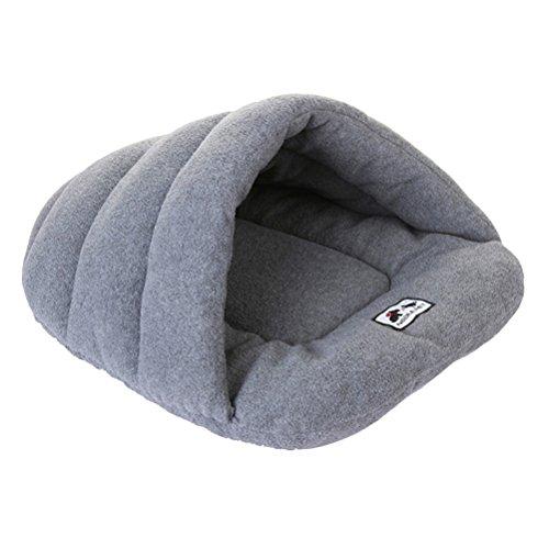 UEETEK Haustier Hund Katze Bett weichen warmen Hund Decke Mat Katze Schlaf Matte Schlafsack Zwinger Nest Pad Größe XS