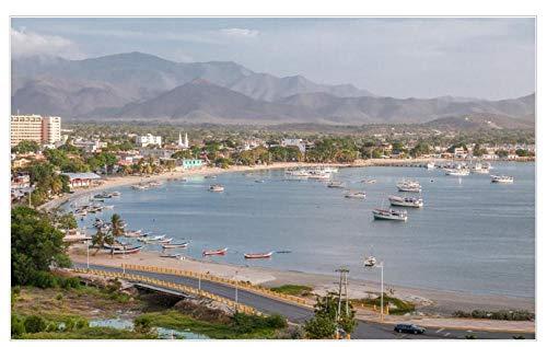 Rompecabezas de 1000 piezas Puerto de Juan Griego en la Isla de Margarita en Venezuela Mini rompecabezas de imágenes