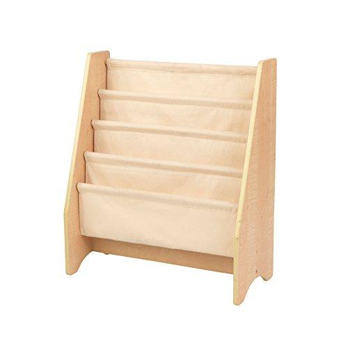 KidKraft 14221 Hängefachregal aus Holz, Möbel für das Kinderzimmer, Bücher- und Aufbewahrungsregal - Natur