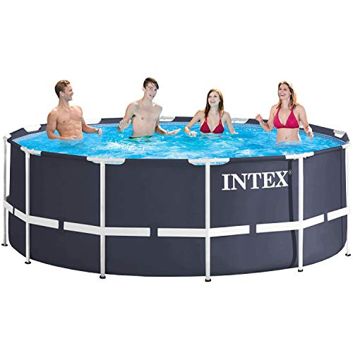 Intex 28904 - Marco de metal para piscina, 366 x 122 cm