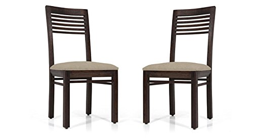 Urban Ladder Zella Solid Wood Dining Chairs, Set of 2