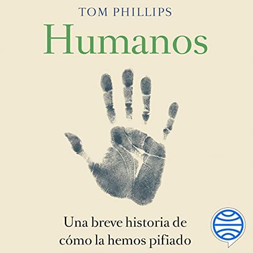 Diseño de la portada del título Humanos