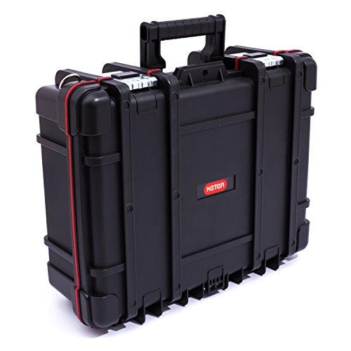 Keter 220232 Werkzeugkasten Technican Box, Schwarz 47 cm