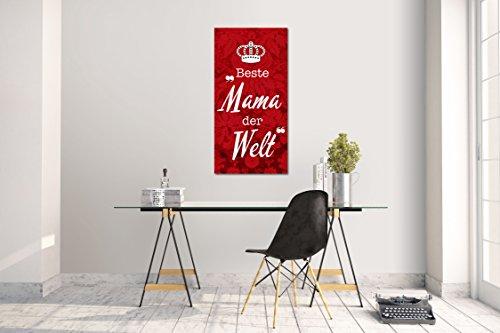 Wandtattoo Wandsticker Aufkleber Kinderzimmer Spruch Sprüche Zitat Beste Mama der Welt