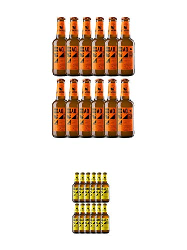 Aqua Monaco HOT 12 x 0,23 Liter + Aqua Monaco Tonic 12 x 0,23 Liter