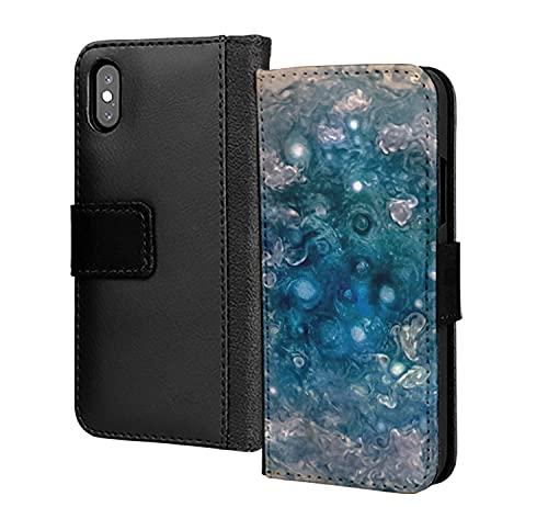 Metallic Universe Star Galaxy - Funda de piel sintética para Samsung Galaxy S7 Edge