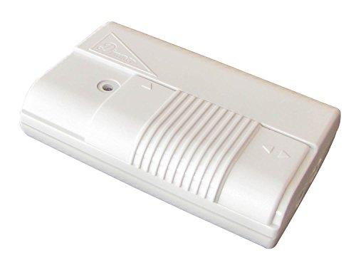 Tibelec 572110 - Variatore con interruttore a piede, colore: bianco