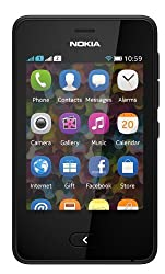 Nokia Asha 501 with All Accessories - Black