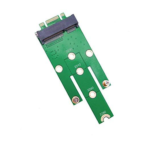 Matedepreso Adapter Karte Zusatz 2242 2230 2260 Ngff m.2 B Desktop SSD Pci-E Anschluss Schlüssel zu Msata Konverter Mini Erweiterung Einfach Installation Platten