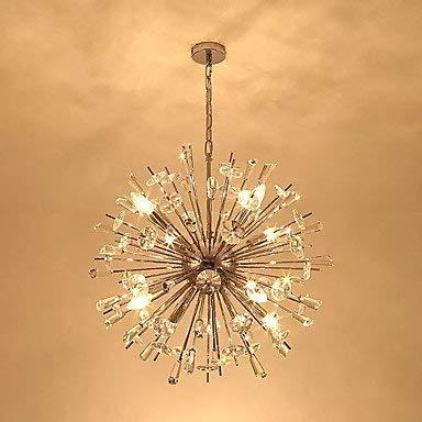 L-S Moderne kroonluchter plafondverlichting hanger hedendaags Chandelier Ambient Light - Crystal 220-240V AC 100-240V warmwit lamp bevat 3C Ce FCC RoHS voor woonkamer slaapkamer