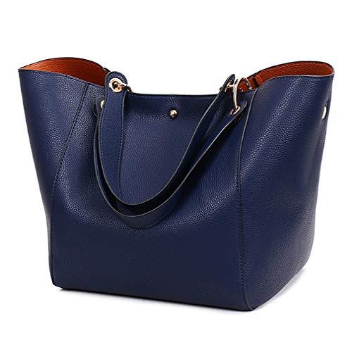 Pahajim Fashion PU Leather Waterproof Handbags Clutches Bags Large Bag...