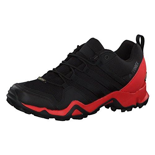 adidas Men's Terrex AX2R GTX Low Rise Hiking Boots, Schwarz (Negbas/Negbas/Roalre 000), 12 UK