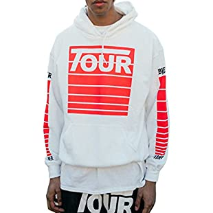 PURPOSE TOUR STADIUM TOUR white hoodie new Justin Bieber merch (large):Masterpola
