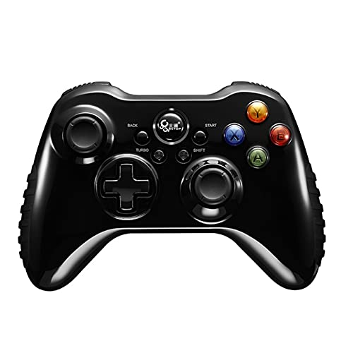 Controlador de Interruptor inalámbrico, Mango de Juego inalámbrico, Profesional de TV de computadora, ratón de Juego Bluetooth (Color : Black-B, Size : 15.6 * 10.2 * 6cm)