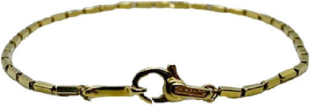 Chimento,bracciale unisex in oro 18kt(3,80 gr) della collezione