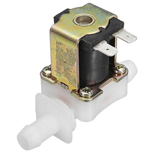 Kungfu Mall Elektrisches Magnetventil für Wasser- und Lufteinlass, 12 V Gleichstrom, normal geschlossen, 12 mm