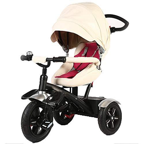 YumEIGE driewieler voor kinderen 360 ° draaibaar gewicht van de stoel 80 kg 1-6 jaar cadeau verjaardag kinderen kinderen trike verkrijgbaar Regulable