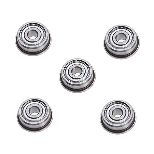ULTECHNOVO 5pcs 3D Printer Bearing Replacement Polycarbonate Wheel Plastic Pulley Linear Bearing for 3D Printer