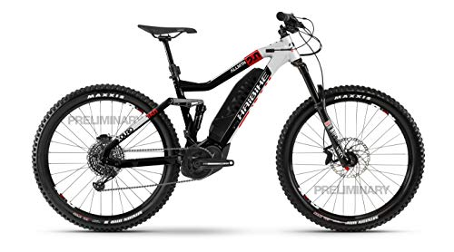 HAIBIKE Bicicleta eléctrica Xduro AllMtn 2.0 Yamaha 2020 (M/44 cm), color negro, plateado y rojo
