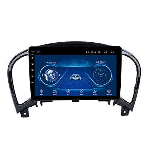 YLCCC Coche Estéreo Sat Nave Adecuado para Nissan Juke 2010-2014 GPS Unidad de Cabeza estéreo Táctil Táctil CARPLAY CARPLAY CARPLAY Sistema DE Radio Sistema DE Radio,8core 4g+WiFi:4+64g