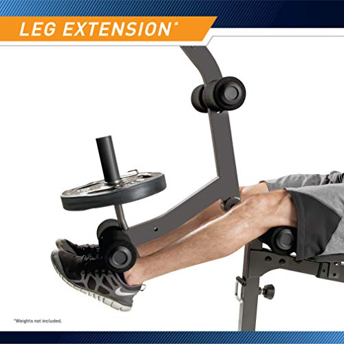 Marcy Olympic Weight Bench for Full-Body Workout MD-857