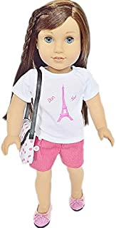 My Brittany's Paris Outfit for American Girl Dolls-Includes Purse and Shoes