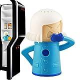Cool Mama Frigo Deodorante Angry Mama Fridge Cleaner Freezer Odore Freshener Remover, basta aggiungere il bicarbonato di sodio, perfetto regalo di Natale- Blu