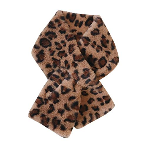 Scarf warm women's fashion winter faux fur scarf solid color jacket scarf warm pompom neck warm women's cute women's