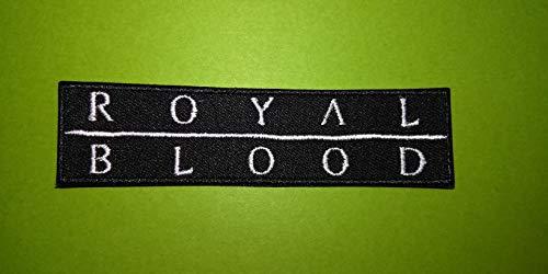 M513 Aufnäher Royal Blood 10 x 2,5 cm