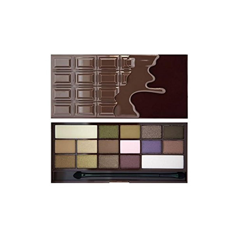 トロピカル思われるつぼみ私は心のアイシャドウパレットハートチョコレート x4 - I Heart Eye Shadow Palette I Heart Chocolate (Pack of 4) [並行輸入品]