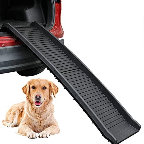 HXXXIN Pet Stairs Dogs EIN- Und Aussteigen Aus Dem Auto Kletterleiter Große Hundeschrittstufen rutschfeste Plastikklappbare Autokletterleiter