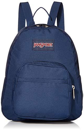 JanSport Half Pint Mini Backpack - Ideal Travel Day Bag, Navy