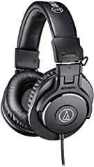 Advanced build quality and engineering 40 millimeter drivers with rare earth magnets and copper clad aluminum wire voice coils Tuned for enhanced detail, with excellent mid range definition Circumaural design contours around the ears for excellent so...