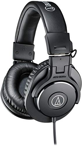 Audio-Technica ATH-M30x Professional Studio Monitor...
