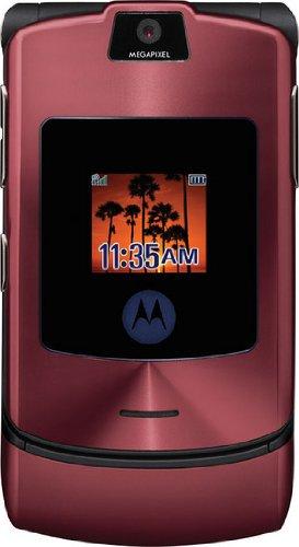 Motorola RAZR V3i ROT - LIGHT - Original, ohne Branding, ohne SIM-Lock