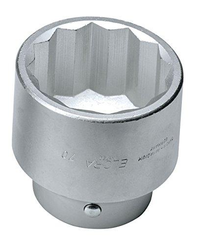 Elora 780-50 Steckschlüssel-Einsatz 1 Zoll, Zwölfkant, 50 mm