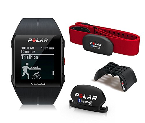 Polar V800 Javier Gomez Noya - Reloj deportivo GPS, sensor de frecuencia...