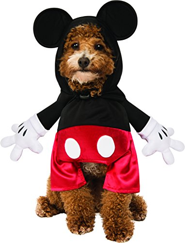 Rubie 's Disney: Mickey Mouse & Friends Pet Kostuum, Micky Mouse, X-Large