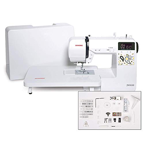 Janome JW8100 Fully-Featured Computerized Sewing Machine...