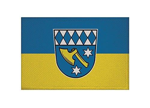 U24 Aufnäher Dasing Fahne Flagge Aufbügler Patch 9 x 6 cm