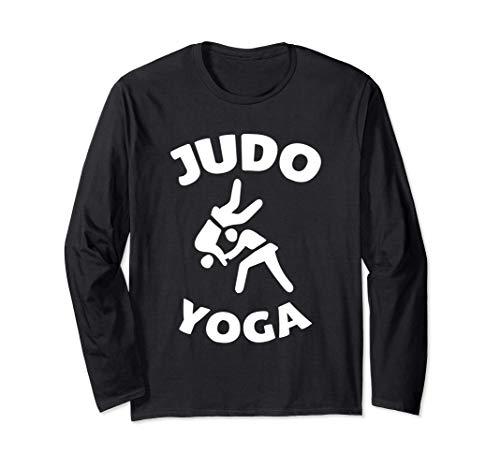 Judo Yoga Kampfsport Lustig Langarmshirt