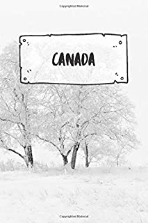 Canada: Ruled Travel Diary Notebook or Journey Journal - Lined Trip Pocketbook for Men and Women with Lines