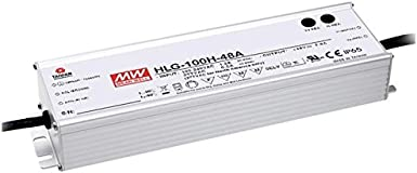 Meanwell Hlg 100h 48a 96w 48v 2a Led Netzteil Ip65 Beleuchtung