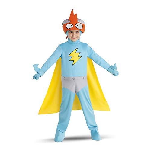 My Other Me Disfraz de Super Things Kid KAZOOM Varias Tallas con 2 mascarillas de Regalo (4 a 5 años)