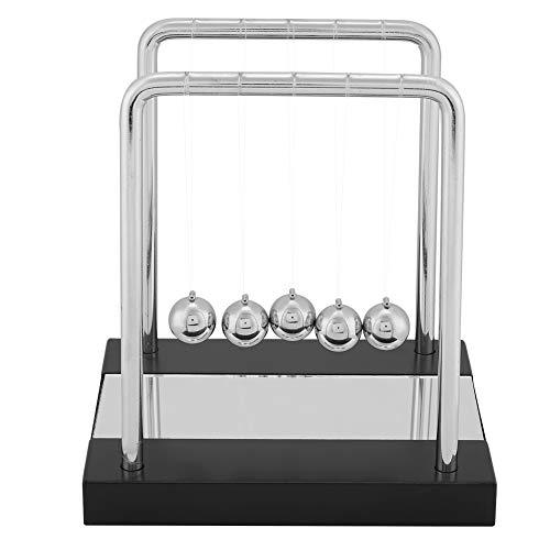 DERCLIVE Newton's Cradle Balance Balls Física Ciencias Péndulo Ornaments Toy Desk