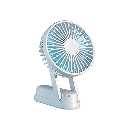 Ventilador portátil Plegable Mini Ventilador eléctrico USB portátil de Mano Ventilador silencioso Recargable niños soplando Ventilador de Comida suplementario Ventilador de Escritorio Big Wind
